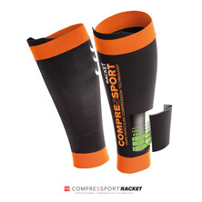Compressport Compression Pro Silicon R2 Calf Black - Racket