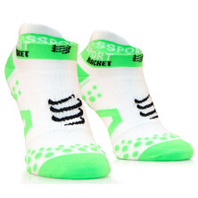 Compressport Strapping Double Layer Low Cut Socks White