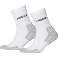 Head Performance Short Crew Socks White 3 Pairs