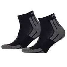 Head Performance Quarter Sock 2 Pack Black