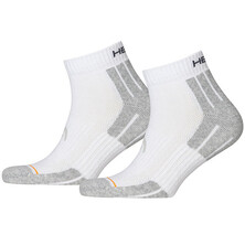 Head Performance Quarter Sock 2 Pack White