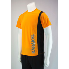 Karakal Men's Club Tee Orange Black