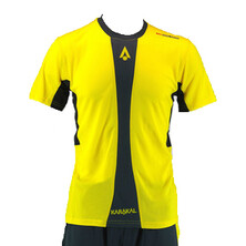 Karakal Men's Pro Tour Shirt Yellow Graphite