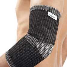 Vulkan Advanced Elastic Elbow Support Black