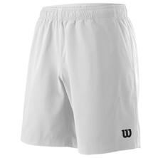 Wilson Men's Team 8 Inch Shorts White