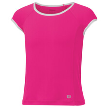 Wilson NVision Elite Cap Girls Top Pink Glow