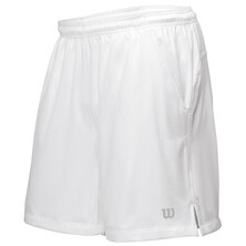 Wilson Men's Rush 9 Tennis Woven Short White