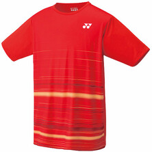 Yonex 16368 Men's Shirt Fire Red