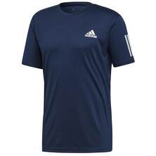Adidas Mens 3 Stripes Club Tee Navy