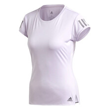Adidas Women's Club 3 Stripe Tee 2020 Purple