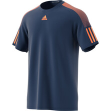Adidas Barricade Men's Tee Blue Orange