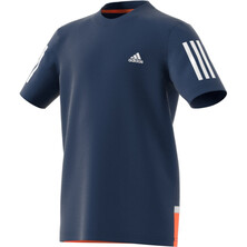 Adidas Club Boy's Tee Blue White