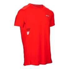 Babolat Core Flag Club Boy Tee Red