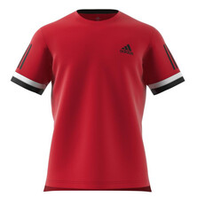 Adidas Club 3STR Men's T- Shirt Scarlet Red