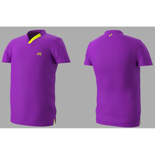 Eye Rackets Performance Line T-Shirt Purple Yellow