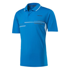 Head Club Men's Technical Polo Shirt Blue