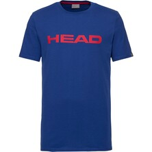 Head Ivan Men's T-Shirt Royal Blue Red