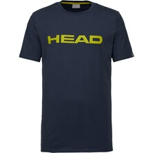 Head Ivan Men's T-Shirt Dark Blue Yellow