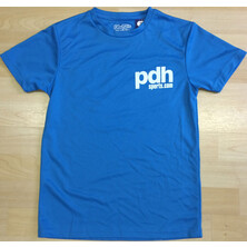 PDHSports Performance Junior T-Shirt Blue