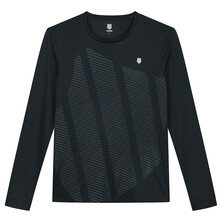 K-Swiss Hypercourt Long Sleeve Tee Black