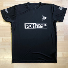 PDHSports Squash World Championships T-Shirt Black