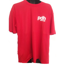 PDHSports Performance Junior T-Shirt Red