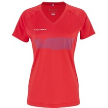 Tecnifibre Lady F2 Airmesh Shirt Red