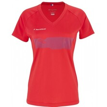 Tecnifbre Girls F2 Airmesh Shirt Red