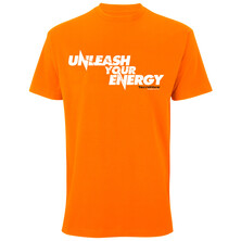 Tecnifibre Unleash Your Energy T-Shirt Orange
