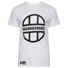 UNSQUASHABLE PDHSports Training Performance T-Shirt - White