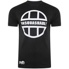 UNSQUASHABLE PDHSports Training Performance T-Shirt - Black White