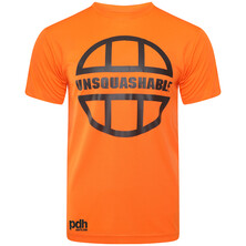 UNSQUASHABLE PDHSports Training Performance T-Shirt - Orange Black