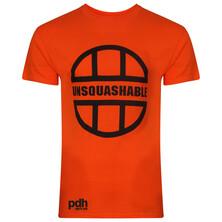 UNSQUASHABLE PDHSports Training T-Shirt Orange Black