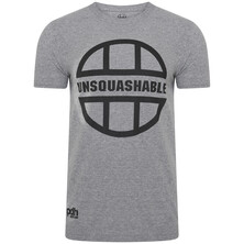 UNSQUASHABLE PDHSports Training T-Shirt Grey Black