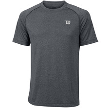 Wilson Men's Core Crew T-Shirt Dark Grey Black
