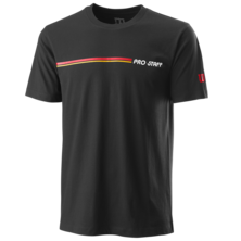 Wilson Men's Pro Staff Tech Tee Black