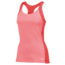 Wilson Women's Striated Racerback Tank Papaya