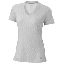 Wilson Women's Striated Cap Sleeve Top White