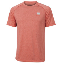 Wilson Men's Core Crew T-Shirt Hot Coral