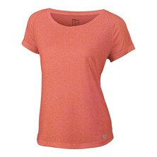 Wilson Womens Core Cap Sleeve Top Nasturtium