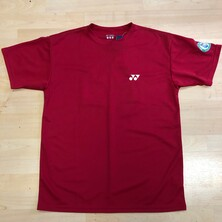 Yonex All England T Shirt 2014 Mens Red OUTLET