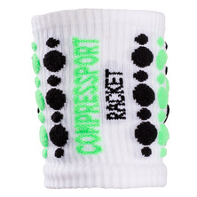 Compressport Wristband 3D Dots White