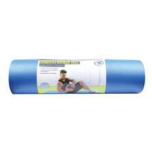 Fitness Mad Stretch Fitness Mat Light Blue