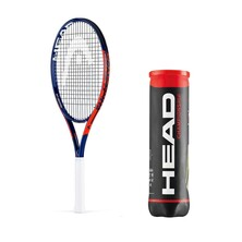 Head Challenge Lite Tennis Racket + Balls Saver Bundle