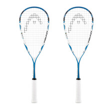 Head Microgel 125 Squash Racket - 2 Racket Bundle
