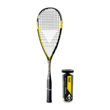 Tecnifibre Carboflex 125 Ball Bundle