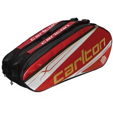 Carlton Kinesis Tour 3 Compartment 9R Racketbag Red Silver