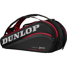 Dunlop CX Series 9 Racket Bag Black Red