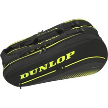 Dunlop SX Performance Thermo 8 Racket Bag Black Yellow