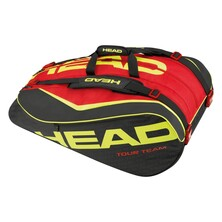 Head Extreme 12 Racket Monstercombi Bag Black Red